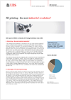Open End PERLES on the Solactive 3D Printing Total Return Index factsheet