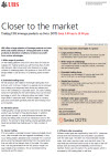 UBS leverage products on Swiss DOTS factsheet